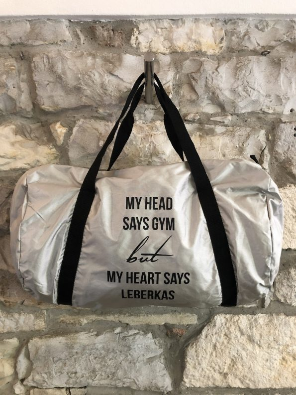 "Gym Bag ""MY HEAD SAYS GYM"""